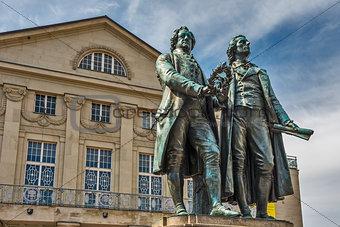 Goethe and Shiller Monument