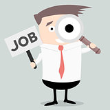 Businessman Search Job