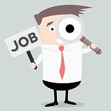Businessman Search Job
