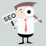 Businessman Search SEO