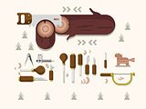 Concept woodcarving tools