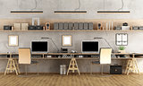 Minimalist architectural office