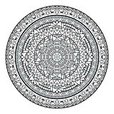 Decorative Mandala Pattern Illustration