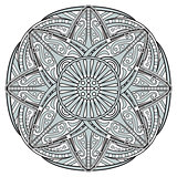 Decorative Mandala Illustration