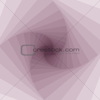 Abstract vector geometrical spiral visual effect background.