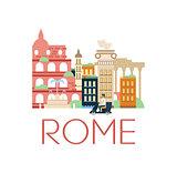 Rome Classic Toristic Scenery