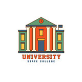 Building With Pillars University Logo