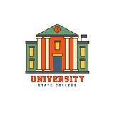Building With Pillars University Logo