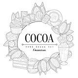 Cocoa Vintage Sketch