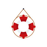Life Preserver For The Boat