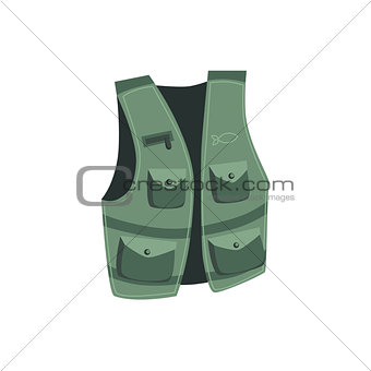 Fisherman Vest With Pockets
