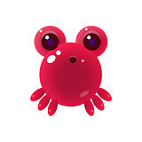 Pink Balloon Marine Creature Character