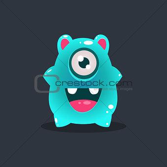 Blue Blob Alien