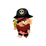 Pirate Captain Toy Icon