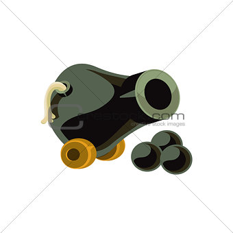 Cannon Toy Icon