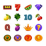 Fruit Machine Icons Collection