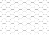 White Honeycomb Grid Texture