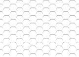 White Honeycomb Grid Texture