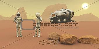 Martian Exploration