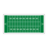 Field for football, vector illustration.