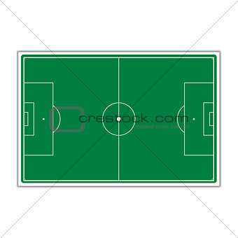 A field for Soccer, vector illustration.