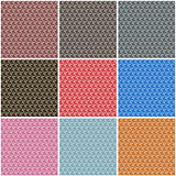 Seamless polygonal backgrounds, vector illustration.