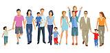 Families, children, couples