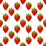 strawberries seamless isolated