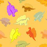 Funny dinosaur for kids