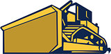 Bulldozer Low Angle Retro