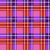 Bright plaid fabric