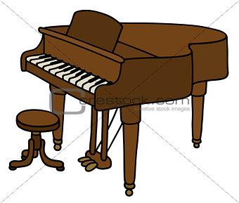 Classic grand piano