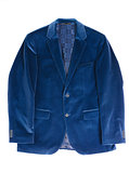 Man's jacket blue