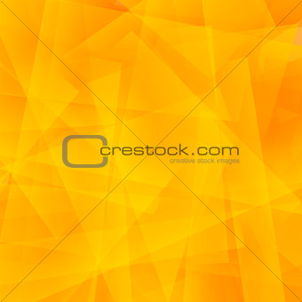 Abstract Orange Polygonal Background.