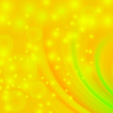 Abstract Light Yellow Wave Background
