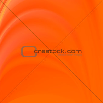 Abstract Orange Wave Background.