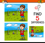 preschool differences activity task