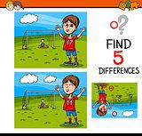 preschool differences activity task
