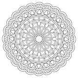 mandala with hand drawn elements