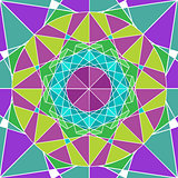 Geometry Mandala background.