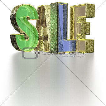 Three-dimensional inscription Sale