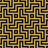 golden oriental swastika pattern