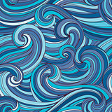seamless hand-drawn pattern