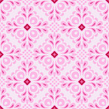 pink Seamless tiled pattern vector