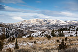 Eastern Montana Hill Country in the Winter