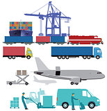 maritime rail and air transport delivery services