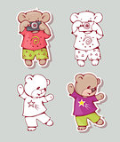 Cartoon bears