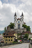 Aarburg Church, Switzerland