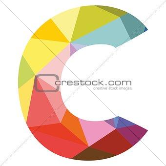 C vector alphabet letter