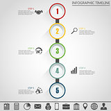 Infographic design template and marketing icons..
